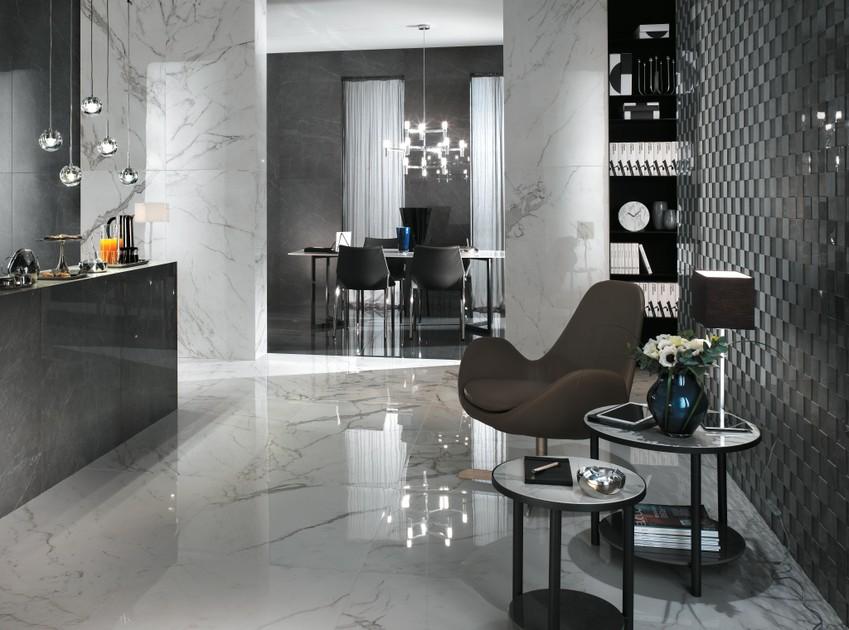 Marvel Marble Look Porcelain Tiles Atlas Concorde