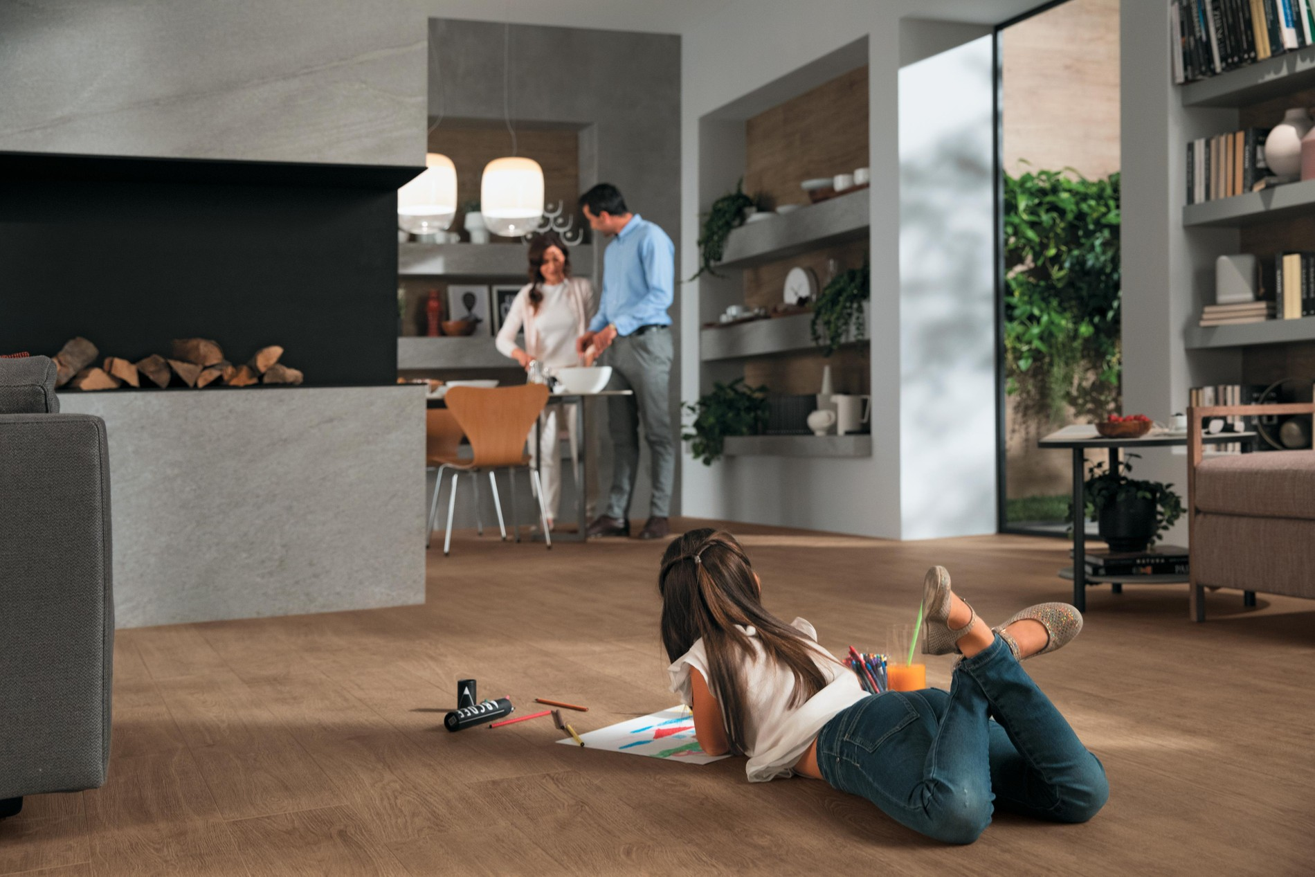 Resistant beauty with Porcelain Tiles