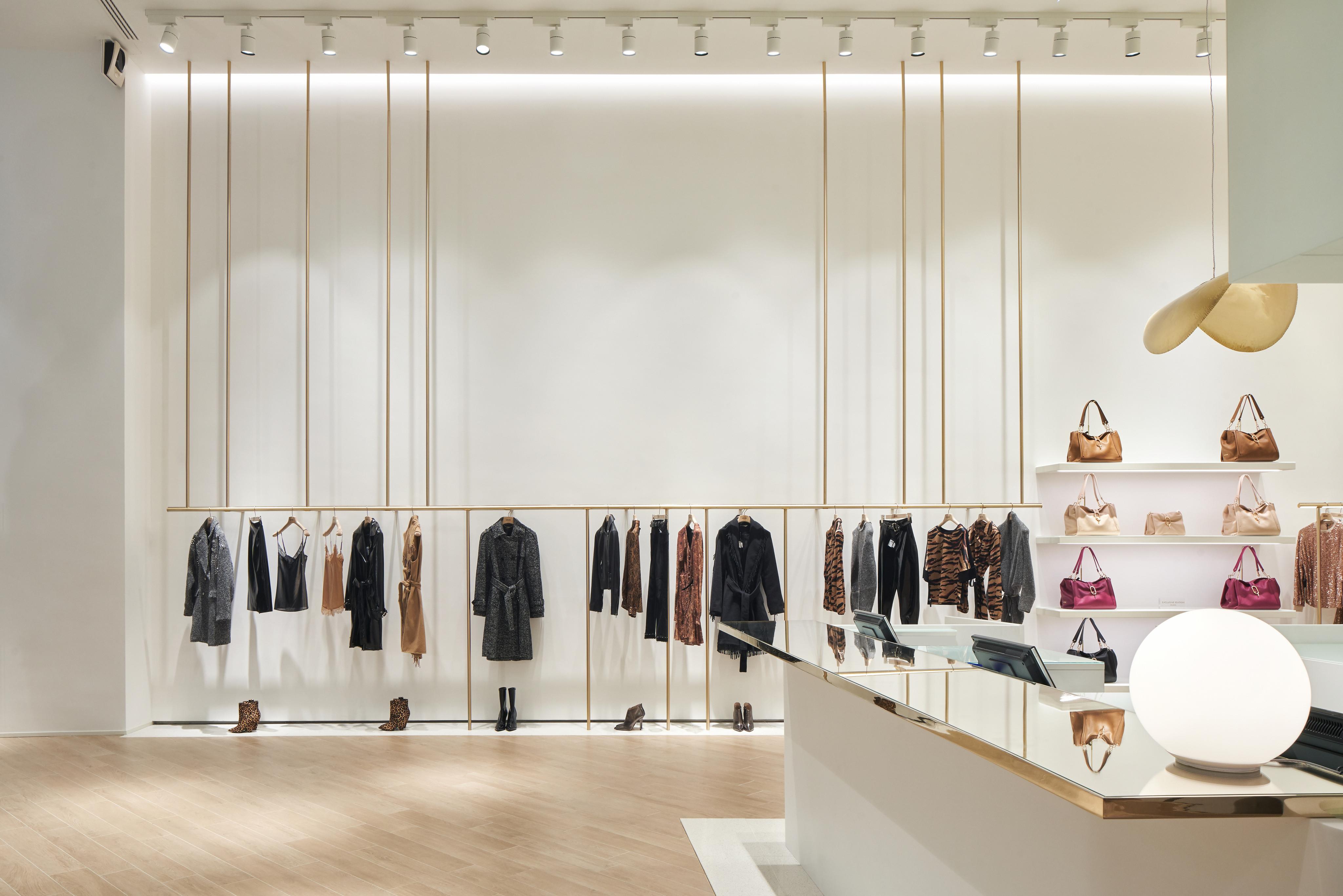 Aptitud sesión Semicírculo  Atlas Concorde floors for the new LIU•JO flagship store in Milan