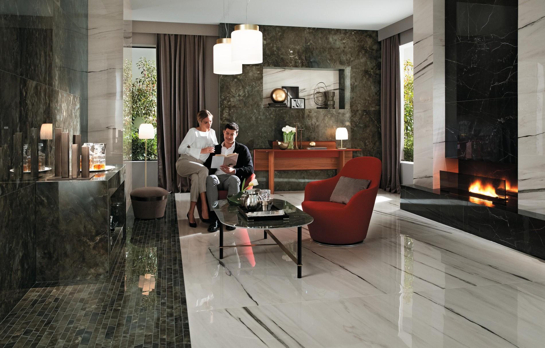 La beauté de l'effet marbre : de l'architecture au design d'intérieur.