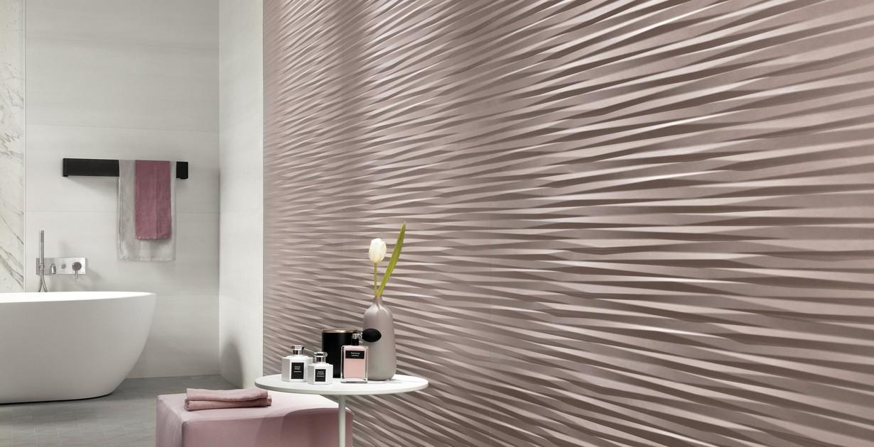 Three Dimensional Ceramic Wall Tiles