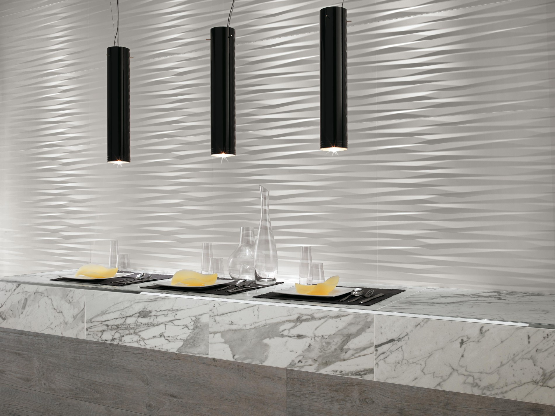 Modern 3D Wall Tiles For Safety And Beauty