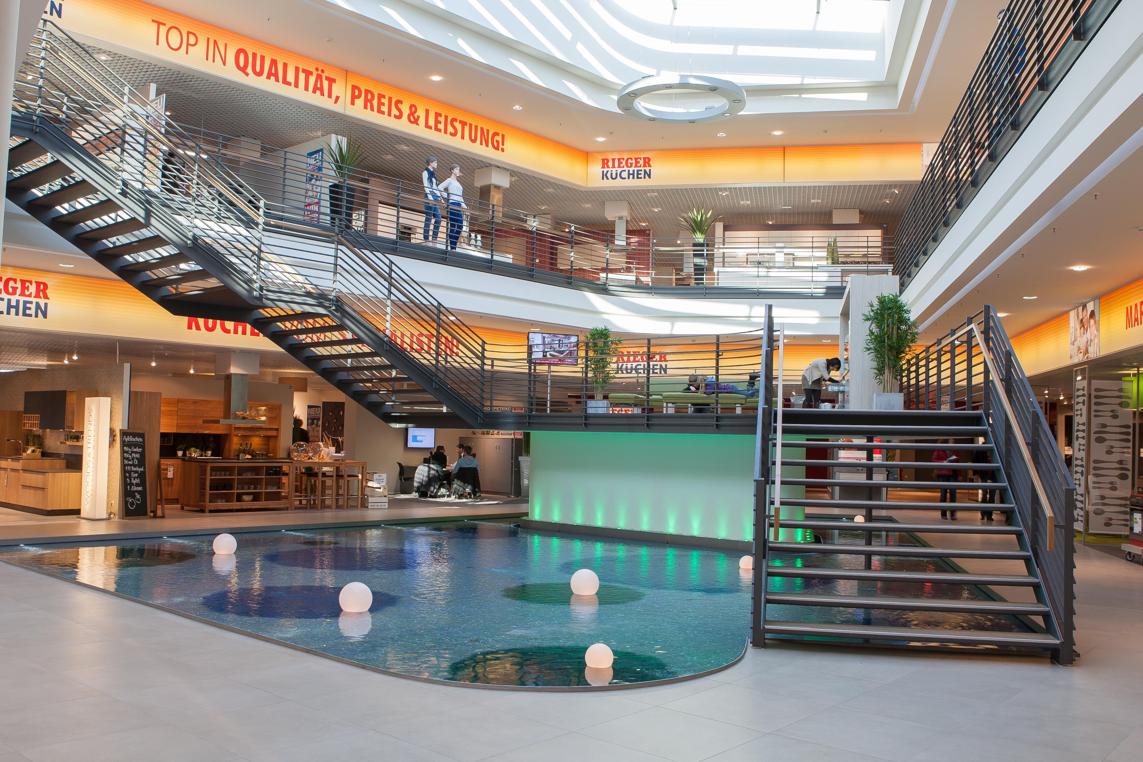 Shopping center Mobel Rieger - KÜCHEN - Atlas Concorde